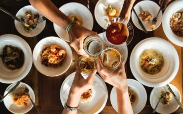 When you're feeling peer pressure to eat unhealthy, consider these tips