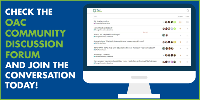 Check out the OAC's Community Discussion Forum